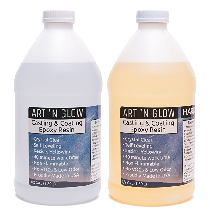 Art N Glow Casting Resin Review | Clear Casting Resin