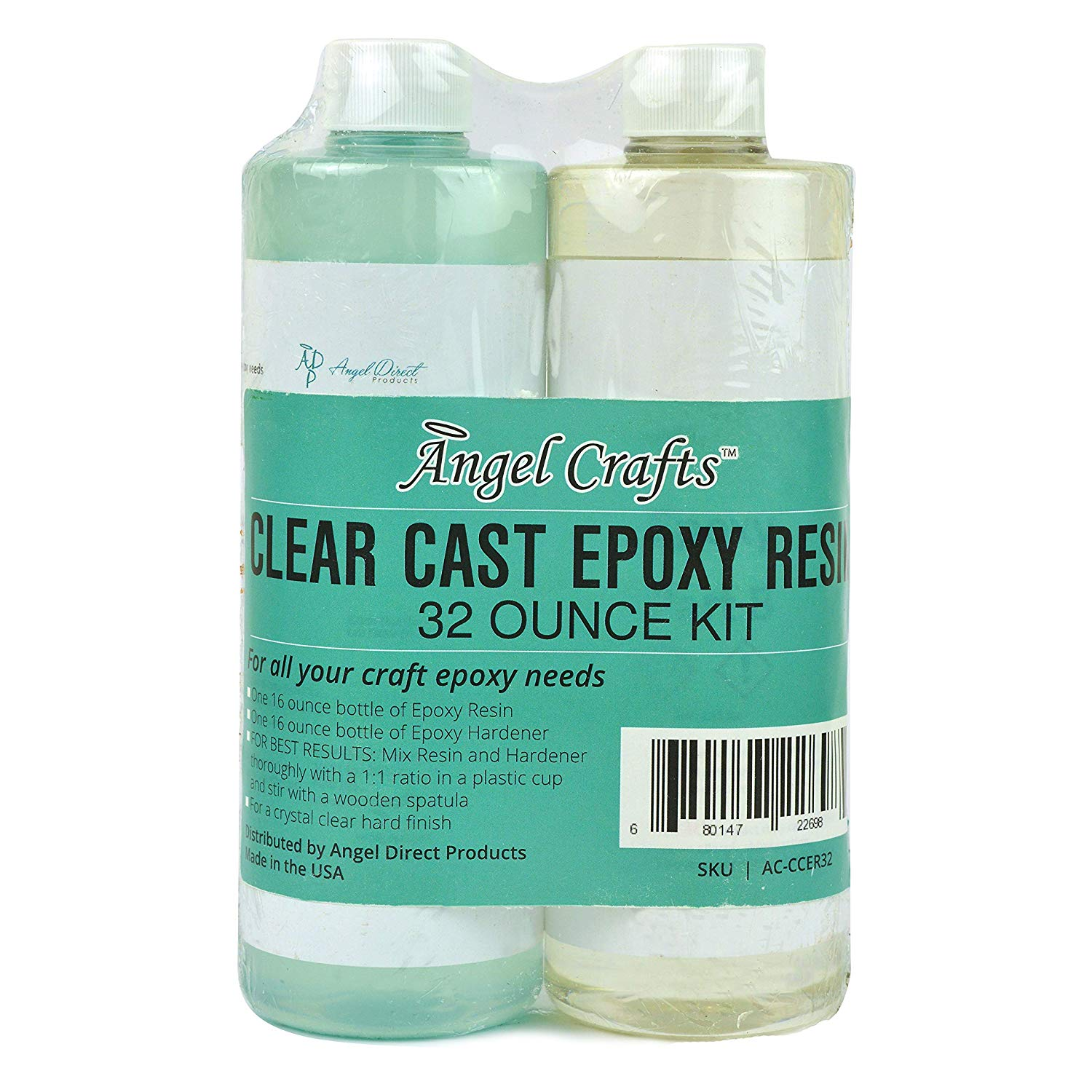 Angel Crafts Clear Cast Epoxy Resin Mix Kit Review | Clear Casting Resin