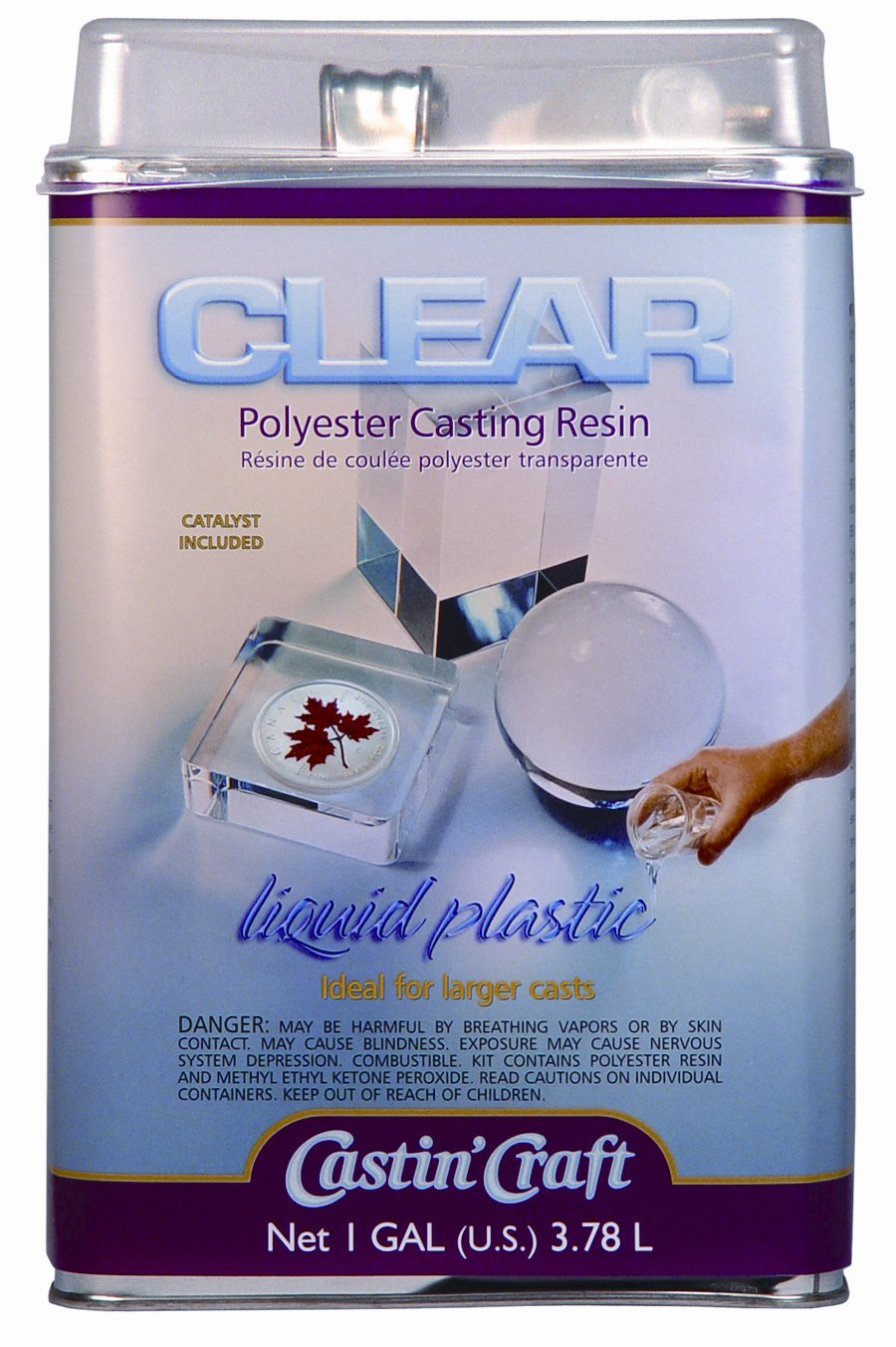 ET's Polyester Casting Resin Liquid Plastic Review | Clear